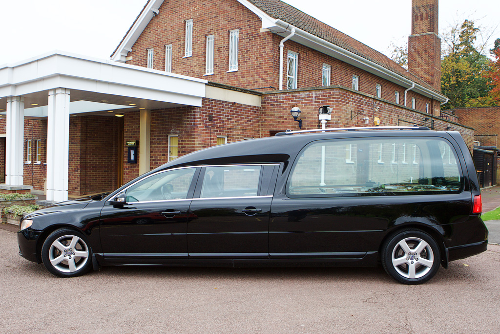 New volvo hearse