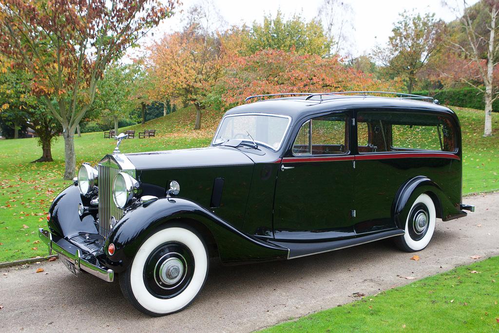 Vintage Rolls hearse 4