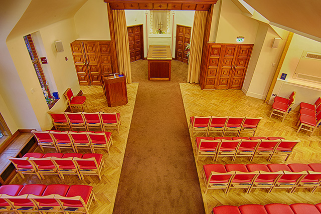 Medway Crematorium Seating fromabove