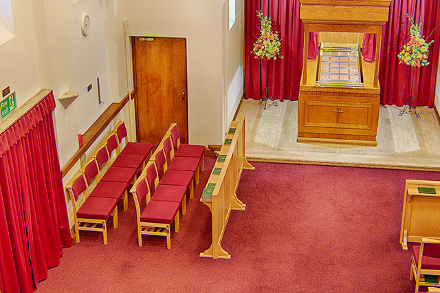 Vinters Park Crematorium family area - Family Funeral Service