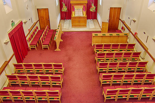 Vinters Park Crematorium from above - Family Funeral Service Maidstone