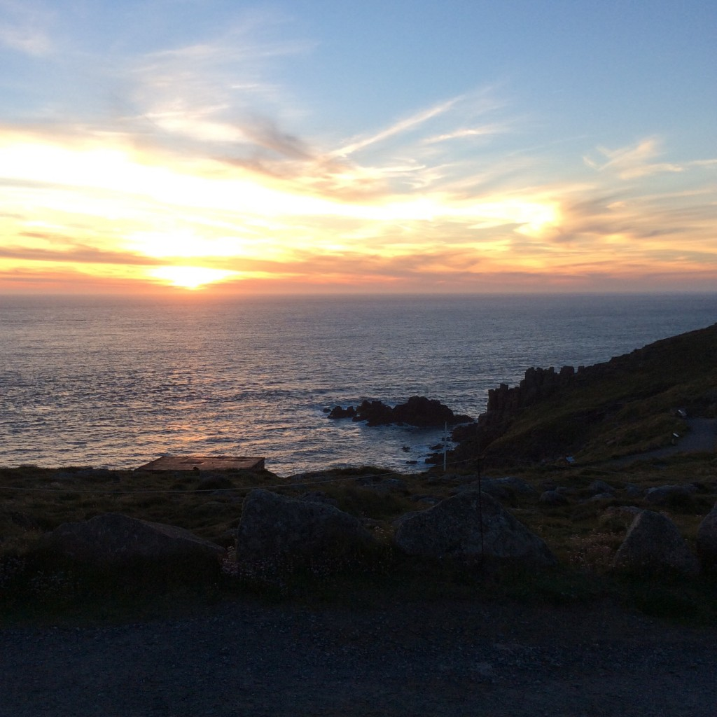 Sunset at Lands End
