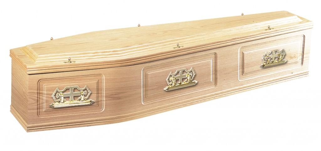The Canterbury Oak, raised lid