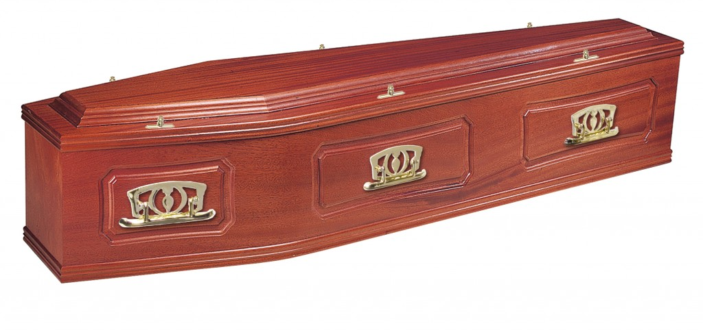 The Cavendish solid Utile coffin