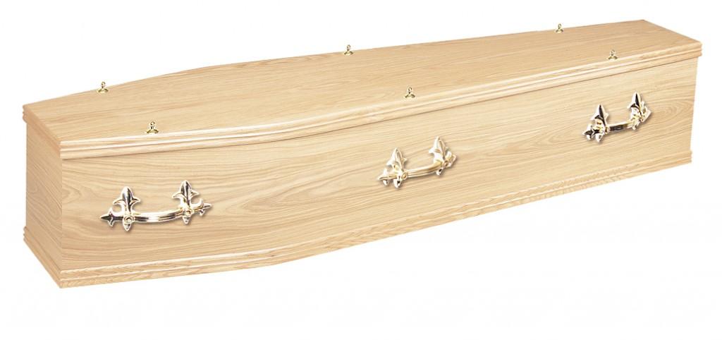 The Chiltern Oak veneer coffin